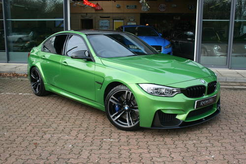 2016 Bmw 3 0 M3 M Dct Saloon Java Green 4dr For Sale Car And Classic