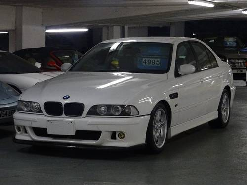 1998 BMW 5 Series 540i V8 M SPORT Auto RHD FRESH IMPORT 4dr  For Sale (picture 1 of 6)