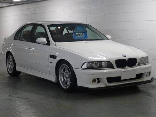 1998 BMW 5 Series 540i V8 M SPORT Auto RHD FRESH IMPORT 4dr  For Sale (picture 2 of 6)