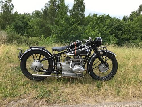 1929 BMW - R63     Very fast motorcycle.   750cc OHV For Sale (picture 1 of 6)