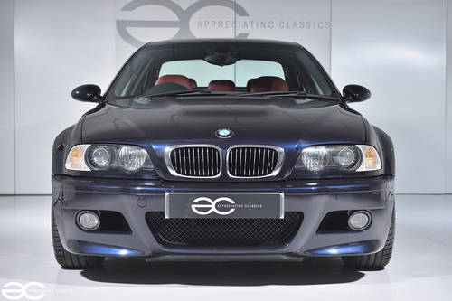 2002 Manual BMW E46 M3 - 49k Miles - Carbon Black & Red Imola SOLD (picture 1 of 6)