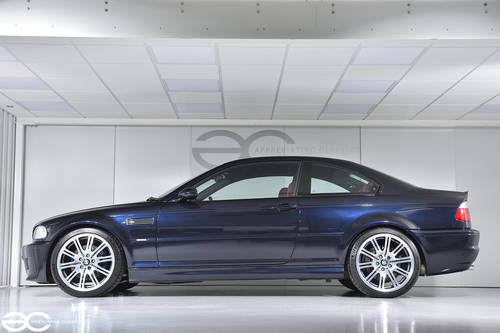2002 Manual BMW E46 M3 - 49k Miles - Carbon Black & Red Imola SOLD (picture 2 of 6)