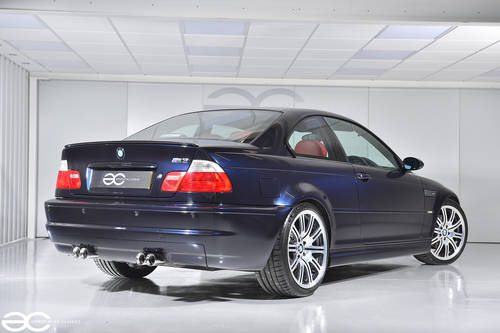 2002 Manual BMW E46 M3 - 49k Miles - Carbon Black & Red Imola SOLD (picture 3 of 6)