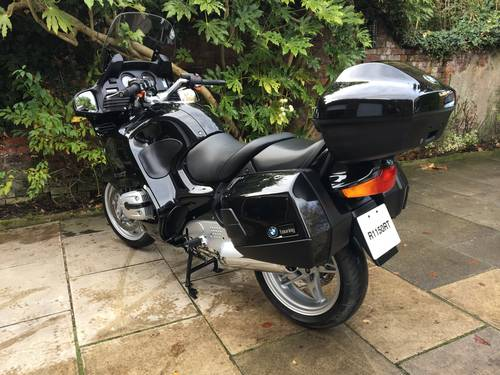 2005 BMW R1150RT, Only 637 miles, dry stored&unused until Aug'17 SOLD (picture 2 of 6)