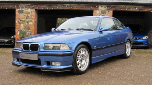 1997 E36 M3 Evolution coupe, Estoril blue with silver ...