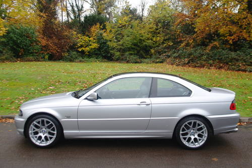 BMW E46.. 318 Ci COUPE..LEATHER + EXTRAS..18 SOLD (picture 1 of 6)