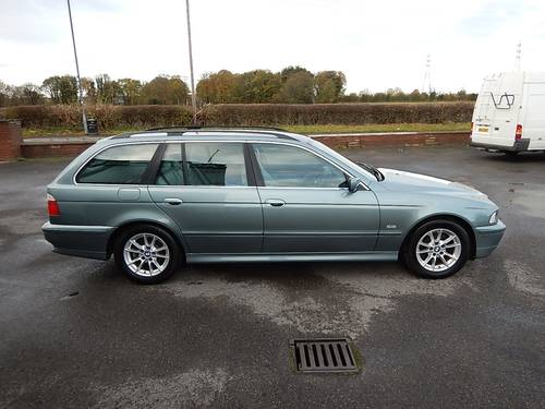 2002 BMW E39 530d 190bhp SE Manual Touring Estate SOLD (picture 3 of 6)