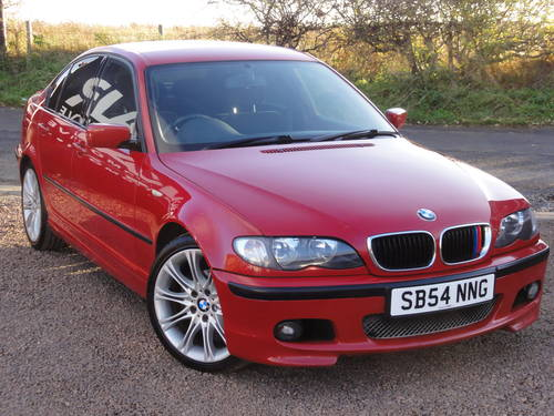 2004 Bmw E46 320i M Sport Saloon Manual 106k Miles Imola Red Sold