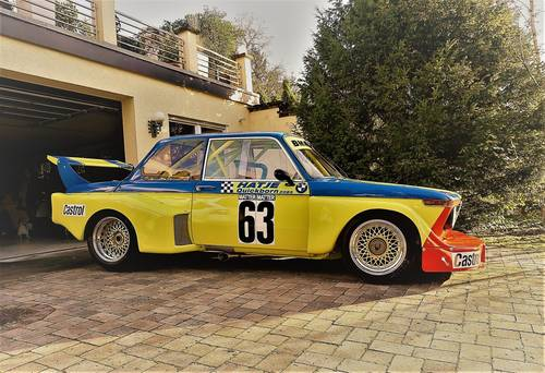 1977 Group 5 BMW 02 Schnitzer 2.0 F2 Hatje RaceCar For Sale (picture 1 of 6)