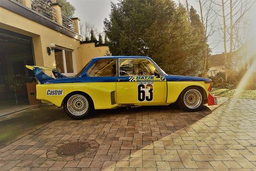 1977 Group 5 BMW 02 Schnitzer 2.0 F2 Hatje RaceCar For Sale (picture 2 of 6)
