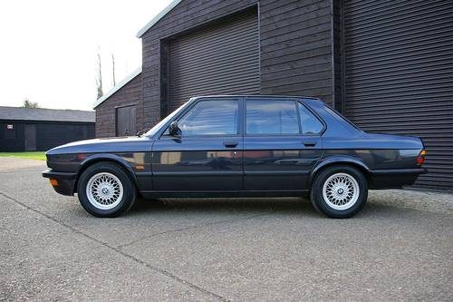 1987 BMW E28 M535i '5 Edition' Auto Saloon LHD (43443 miles) SOLD (picture 1 of 6)