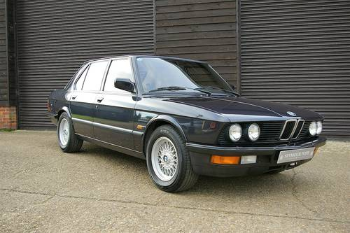 1987 BMW E28 M535i '5 Edition' Auto Saloon LHD (43443 miles) SOLD (picture 2 of 6)