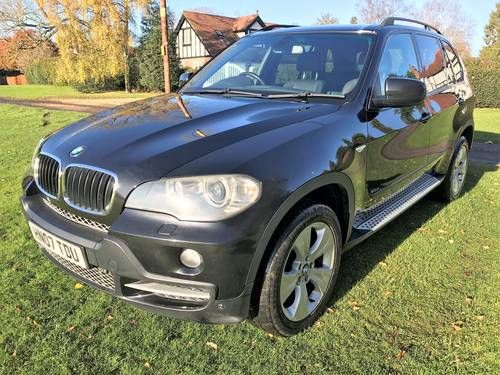 Bmw X5 E70 3 0d Se Auto Satnav Full Leather 2007 Sold Car And