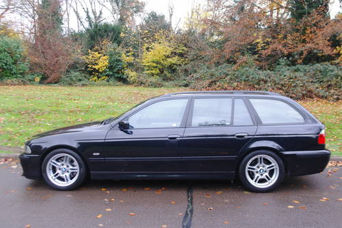 BMW E39 530d M-SPORT.. AUTOMATIC.. RARE TOURING+NICE EXAMPLE SOLD (picture 1 of 6)