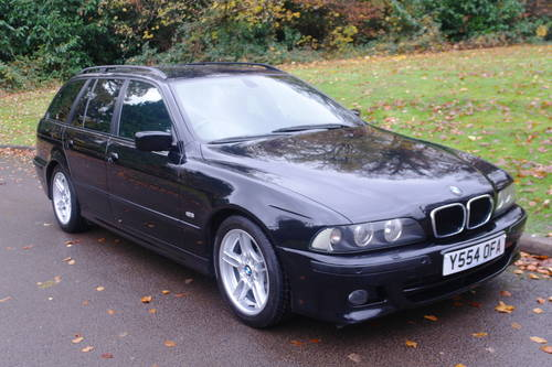 BMW E39 530d M-SPORT.. AUTOMATIC.. RARE TOURING+NICE EXAMPLE SOLD (picture 2 of 6)
