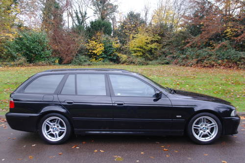 BMW E39 530d M-SPORT.. AUTOMATIC.. RARE TOURING+NICE EXAMPLE SOLD (picture 6 of 6)