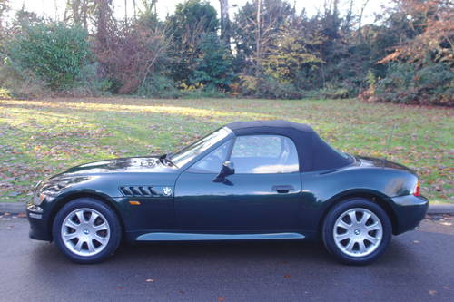 BMW Z3.. 2.8 ROADSTER..SPORTS SEATS..LOVELY EXAMPLE SOLD (picture 1 of 6)