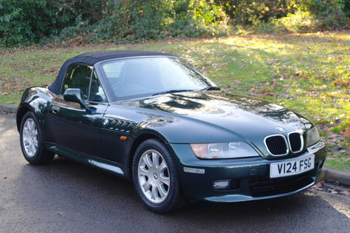 BMW Z3.. 2.8 ROADSTER..SPORTS SEATS..LOVELY EXAMPLE SOLD (picture 2 of 6)