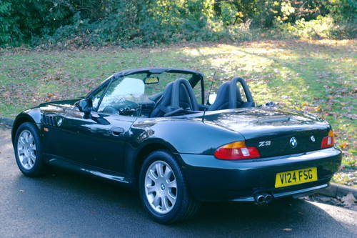 BMW Z3.. 2.8 ROADSTER..SPORTS SEATS..LOVELY EXAMPLE SOLD (picture 5 of 6)