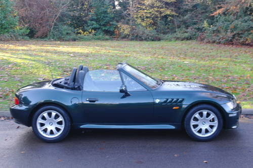 BMW Z3.. 2.8 ROADSTER..SPORTS SEATS..LOVELY EXAMPLE SOLD (picture 6 of 6)