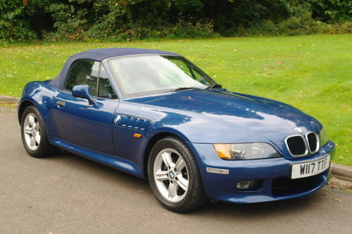 BMW Z3 ROADSTER..RARE INDIVIDUAL SPEC.. LOW MILES..FSH SOLD (picture 2 of 6)
