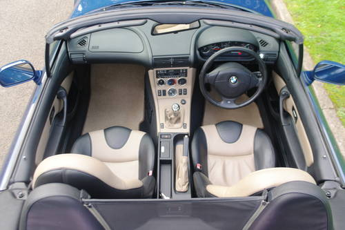 BMW Z3 ROADSTER..RARE INDIVIDUAL SPEC.. LOW MILES..FSH SOLD (picture 4 of 6)