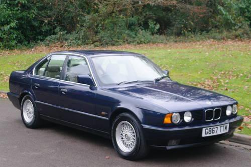 BMW E34 SERIES.. 525i SE AUTO.. RARE ROYAL BLUE.. TOP SPEC SOLD (picture 2 of 6)