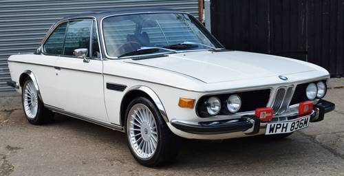 1974 BMW E9 3.0 CSI - Manual - Full nut and bolt restoration SOLD (picture 1 of 6)