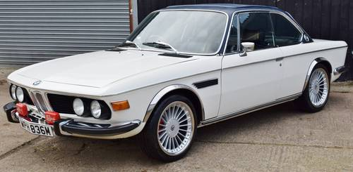1974 BMW E9 3.0 CSI - Manual - Full nut and bolt restoration SOLD (picture 2 of 6)