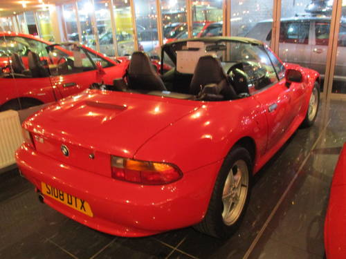 1998 bmw z3 convertible red with black For Sale (picture 2 of 6)