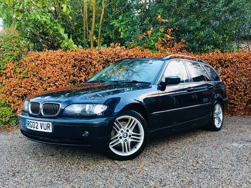 2002 STUNNING CONDITION E46 330D SE TOURING AUTOMATIC  SOLD (picture 1 of 6)