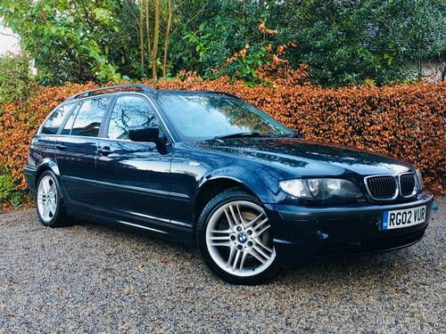 2002 STUNNING CONDITION E46 330D SE TOURING AUTOMATIC  SOLD (picture 2 of 6)