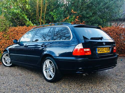 2002 STUNNING CONDITION E46 330D SE TOURING AUTOMATIC  SOLD (picture 3 of 6)