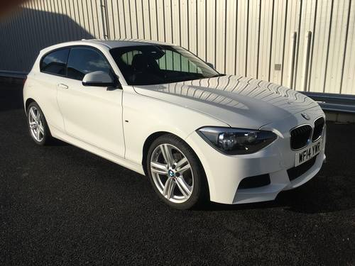 2014 14 BMW 1 SERIES 2.0 118D M SPORT 3D 141 BHP SOLD (picture 1 of 6)