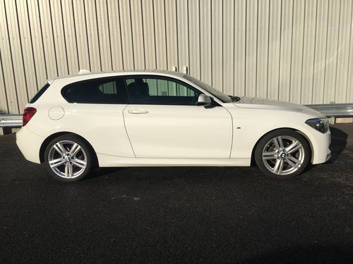 2014 14 BMW 1 SERIES 2.0 118D M SPORT 3D 141 BHP SOLD (picture 2 of 6)