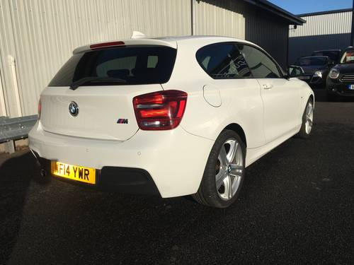 2014 14 BMW 1 SERIES 2.0 118D M SPORT 3D 141 BHP SOLD (picture 3 of 6)