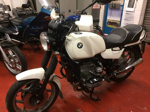 1987 BMW R80, Mono. SOLD (picture 1 of 6)
