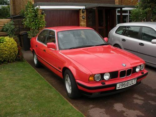 BMW 535i E34 FSH Leather Interior 1992 For Sale (picture 1 of 6)