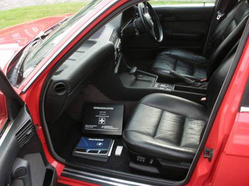 BMW 535i E34 FSH Leather Interior 1992 For Sale (picture 3 of 6)
