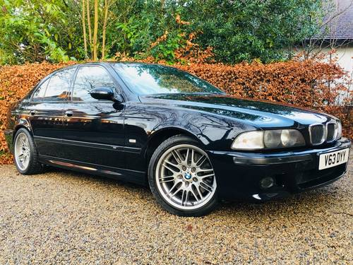 2000 V BMW E39 M5 - STUNNING CONDITION THROUGHOUT SOLD (picture 1 of 6)