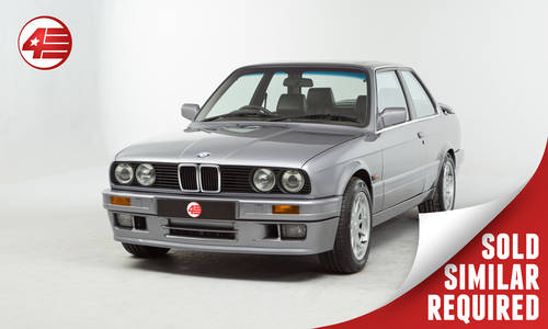 1991 BMW E30 328i Sport /// Rebuilt 2.8 M52 /// M Tech 2 SOLD (picture 1 of 2)