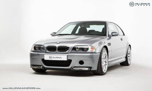 2003 BMW M3 CSL // LHD // 22k Miles For Sale (picture 1 of 6)