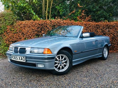 1998 BMW E36 328I CONVERTIBLE - LOW MILEAGE MODERN CLASSIC SOLD (picture 1 of 6)