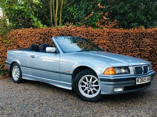1998 BMW E36 328I CONVERTIBLE - LOW MILEAGE MODERN CLASSIC SOLD (picture 2 of 6)