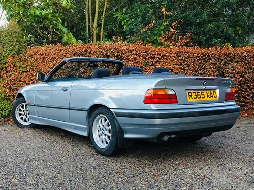 1998 BMW E36 328I CONVERTIBLE - LOW MILEAGE MODERN CLASSIC SOLD (picture 4 of 6)