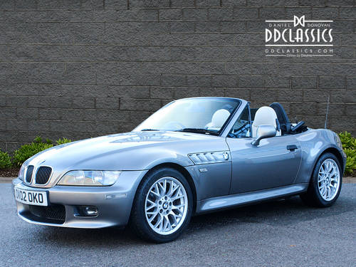 2002 BMW Z3 2.2i Sport Roadster (RHD) SOLD (picture 1 of 6)