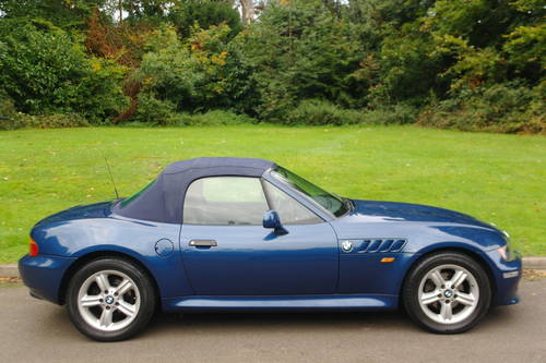 BMW Z3 ROADSTER..RARE INDIVIDUAL SPEC.. LOW MILES..FSH SOLD (picture 6 of 6)