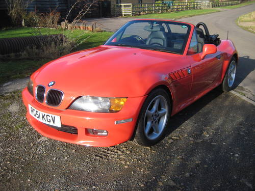 2001  BMW Z3 2.2 Automatic DEPOSIT TAKEN SOLD (picture 3 of 6)