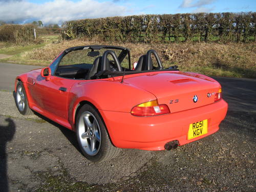 2001  BMW Z3 2.2 Automatic DEPOSIT TAKEN SOLD (picture 4 of 6)