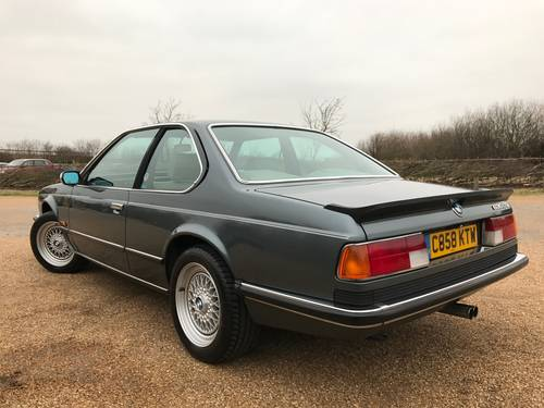 1986 BMW 635 CSi Automatic in dolphin grey SOLD (picture 3 of 6)
